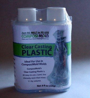 ComposiMold Clear Casting Plastic, 8 oz