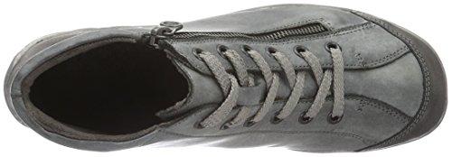 Remonte R3475, Baskets Hautes Femme Gris (Fumo/Negro 01)