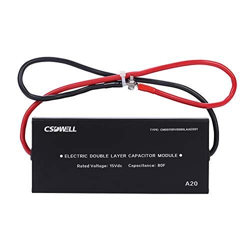CSDWELL A20 15V 80F 5×400F Farad Capacitor Module SUPERCAPACITOR Module