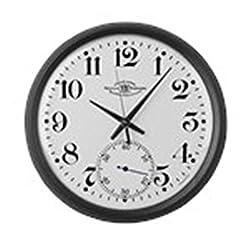 CafePress - Ball Railroad Pocket Watch - Large 17 Round Wall Clock, Unique Decorative Clock