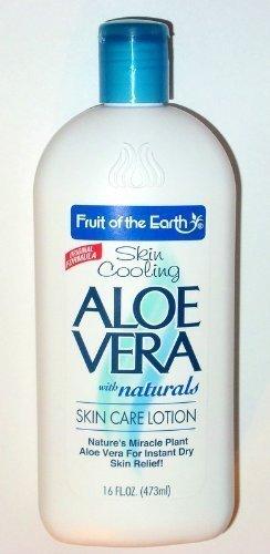 Fruit of the Earth Aloe Vera Skin Care Lotion 16 oz (2 Pack) Triple Action Formula