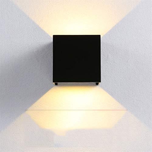 ZHANGXJ Indoor wandlamp moderne LED wandlamp van aluminium nachtlamp geschikt voor woonkamer slaapkamer trappenhuis hal…