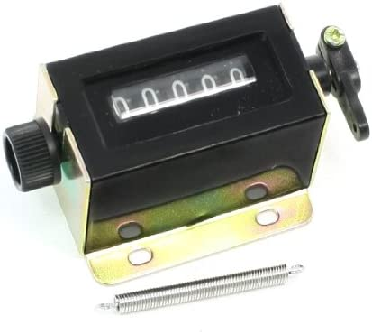 uxcell カウンタープル 引くカウンタ D67-F 5桁 リセッタストローク 引っ張る