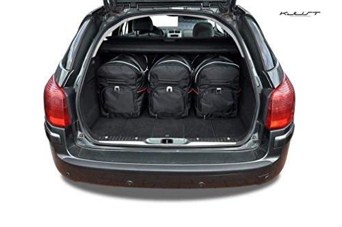 CAR BAGS AUTO-TASCHEN MASSTASCHEN ROLLENTASCHEN PEUGEOT 407 SW (KOMBI), 2004-2011 - KJUST