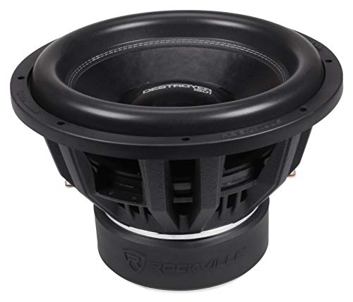 Rockville Destroyer 15D1 15' Competition Car Audio Subwoofer w/USA Voice Coils!