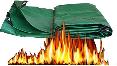 車、木材、ボート、ガーデン、キャンプ、アウトドア3 X5 Mを保護するヘビーデューティ多目的防水ポリターポリンPEタープ裏庭のテラスカバーUV耐性Backyaldカバー (Color : Green, Size : 3 x5 m)