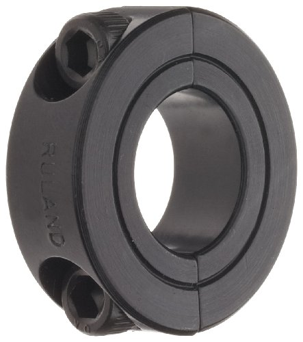 Ruland SP-20-F Two-Piece Clamping Shaft Collar, Black Oxide Steel, 1.250