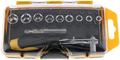 コンピューター用のプレミアムドライバー修理ツールセットホルダーソケットキット - 23セット