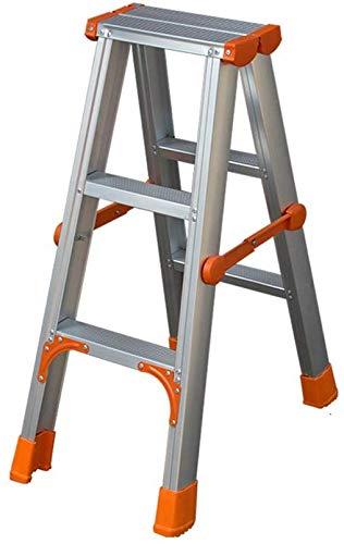 QTQZDD Taburete, Escalera Escalera Plegable de Aluminio Escalera ...