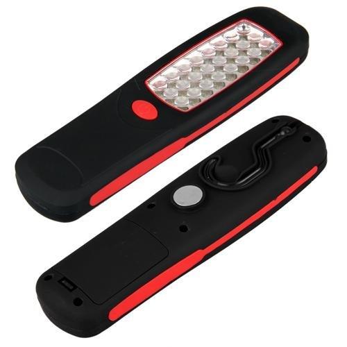 Sonline Linterna Trabajo 24 LED Colgante Con Gancho A Bateria Emergencia