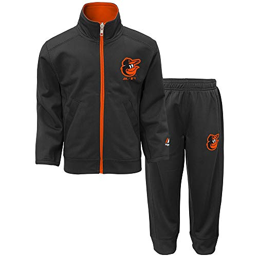 - Outerstuff Baltimore Orioles MLB Home Plate Full Zip Jacket & Pants Set Toddler (2T-4T)