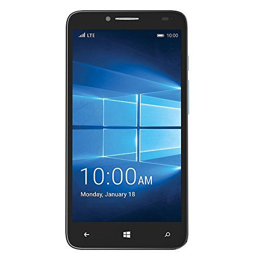 ALCATEL ONETOUCH FierceTM XL Smartphone Windows® 10 for T-Mobile (Alcatel One Touch Fierce Prepaid Cell Phone)
