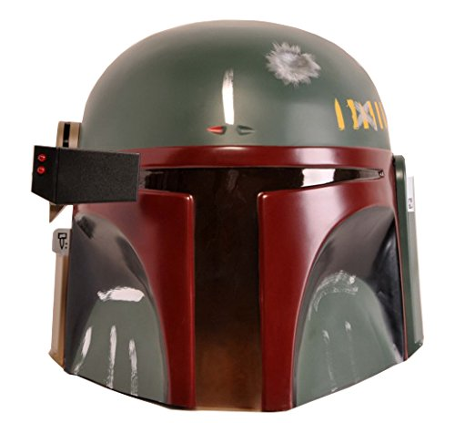 Dark Helmet Costumes (Star Wars Boba Fett Costume Helmet, Black, One Size)