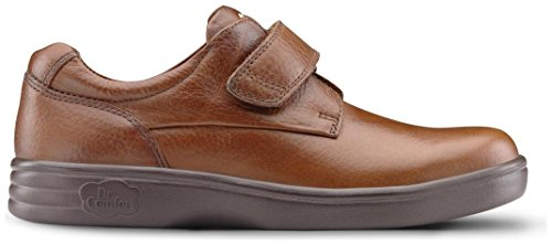 Dr. Comfort Maggy Women's Therapeutic Diabetic Extra Depth Shoe: Chestnut 8 X-Wide (E-2E) Velcro by Dr. Comfort (Image #5)