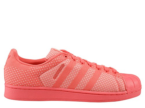 Adidas Originals SUPERSTAR WEAVE Chaussures Mode Sneakers Unisex Rouge
