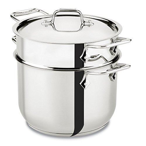 All Clad Stainless Steel 6-qt. Pasta Pot