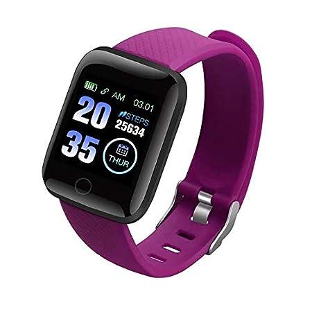 SHIQI SmartWatch Ritmo cardíaco Bluetooth Inteligente Reloj ...