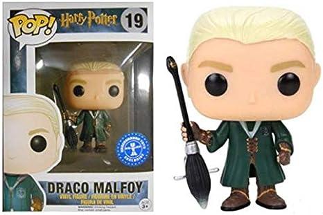 Funko Pop Draco Malfoy 19 Harry Potter Figuras 9 cm Quidditch ...