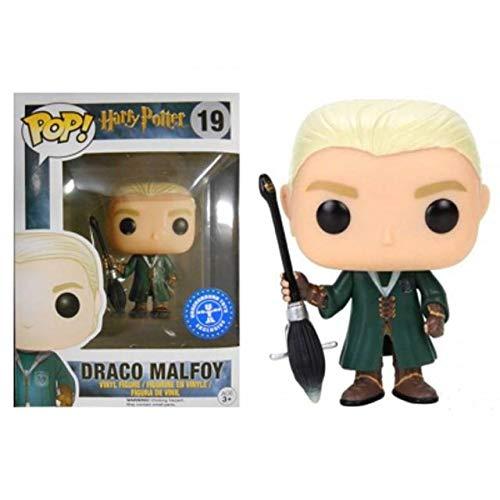 Funko Pop Draco Malfoy 19 Harry Potter Figura 9 cm Quidditch Underground Toys
