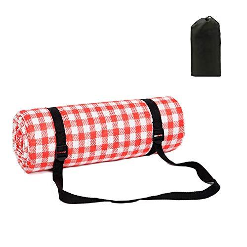 """Picknickdeken met waterdichte achterkant Extra groot 200x200cm/79 """"x79"""" Outdoor Strandmat Deken Zanddicht Draagbare Opvouwbare Machine Wasbaar Tapijt voor Familie 6-8 personen Reizen Camping Beach Park Wandelen"""