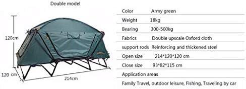 1-2 Personas Tienda de Campaña Tela Oxford Robusto y Duradero protección UV para la Playa, al Aire Libre, Viajes, Senderismo, Camping, Caza, Pesca, etc.