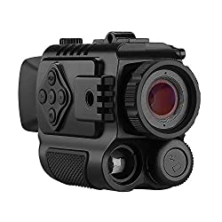 BOBLOV P4 Night Vision Monocular 5X Digital Zoom Infrared Portable Night Vision Scope 200Yards Visible for Hunting Forest Observe Wildlife Secenery (Black)