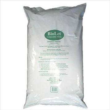 Biolet Starter Mulch 8 Gallon Bag Misc Misc Amazonca Patio