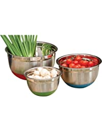Gain 3-Piece Mixing Bowl Set Is Food-Grade, And Designed For Style And Function reviews