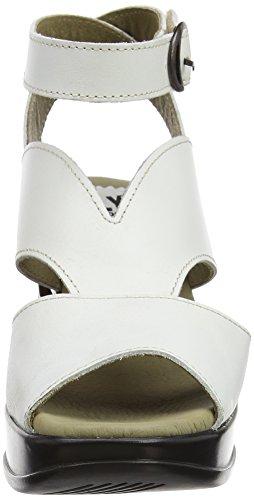 P143869003 White Donna Piattaforma Fly con Sandali London 006 Avorio Off FxHHSU6qw