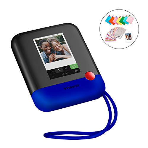 (Polaroid Pop 2.0 2 in 1 Wireless Portable Instant 3x4 Photo Printer & Digital 20MP Camera with Touchscreen Display, Built-in Wi-Fi, 1080p HD Video (Blue) Prints From your Smartphone.)