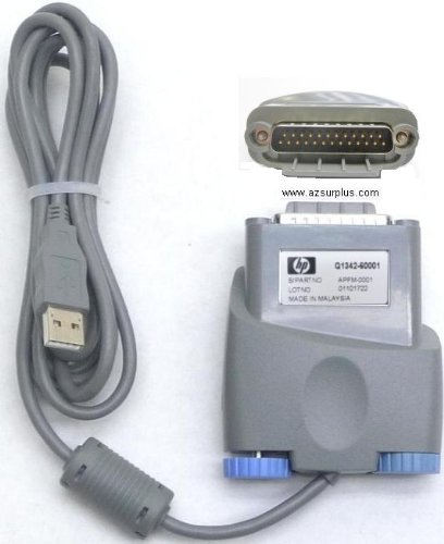 Amazon.com: HP LASERJET 1000 USB TO IEEE PRINTER CABLE Q1342-60001
