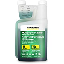 Karcher Multi-Purpose Cleaning Detergent Soap Cleaner for Pressure Power Washer, 1-Quart