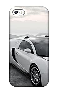 Iphone 5/5s Case Cover - Slim Fit Protector Shock Absorbent Case (bugatti Veyron Sports Car )