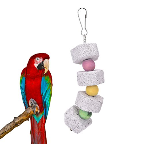 CoscosX-Small-Animal-and-Bird-Grinding-Stones-Bird-Parrot-Chew-Toy-Teeth-Shred-Colorful-Beads-Clean-Tool-Two-piece