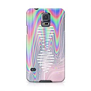 Arctic Monkeys Trippy Holographic Wave Logo Hard Plastic Snap-On Case For Samsung Galaxy S5