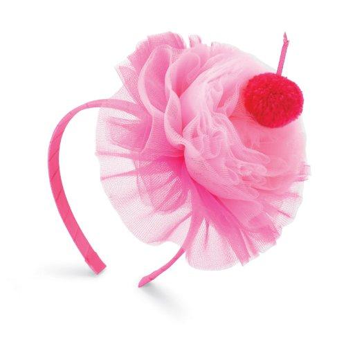 Mud Pie Inc - Hot Pink Cupcake Headband -