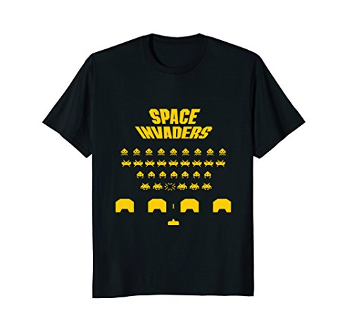 Retro Space Invaders Screen T-shirt