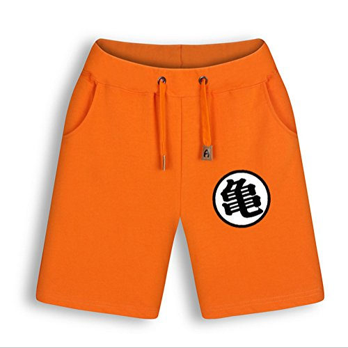 NSOKing Mens Anime Dragon Ball Z Son Goku Costume Shorts Summer Pants (X-Large, Color02)