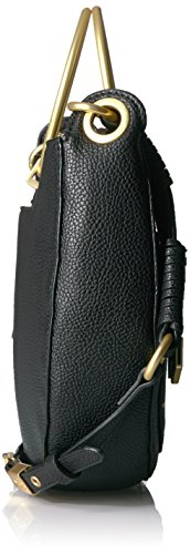 Foley Tyler Crossbody Corinna Black Satchel Crescent wfPFqWUwc1