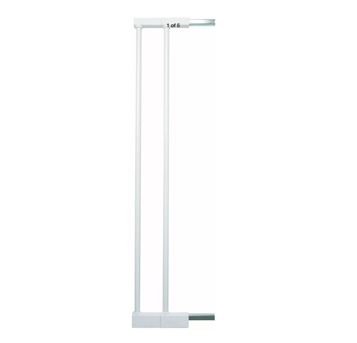 Baby Dan Extend A Gate 58014-5400-10-85 2 Extensions for Premier, Pressure Fit, Danamic and Two Way Autoclose Safety Gates 2 x 7 cm White 58014-2400-10-21