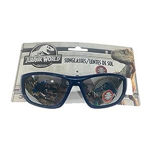 Jurassic World Boys' Logo Blue Sunglasses - 100% UVA & UVB Protection