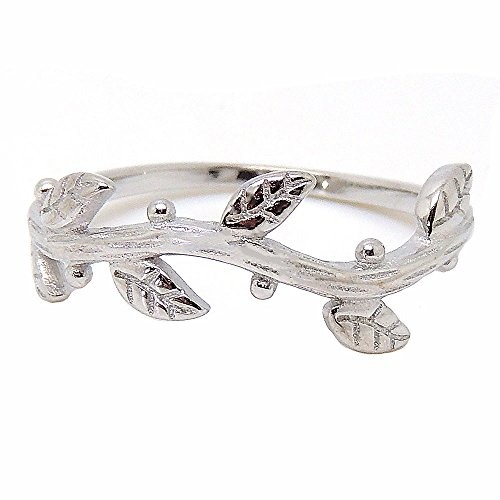 Ivy Vine Ring - Ginger Lyne Collection Ivy Sterling Silver Vine Band Ring