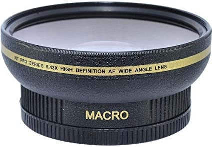 Amazon com : Ultra Wide Angle Lens + Macro Lens Attachment for Nikon