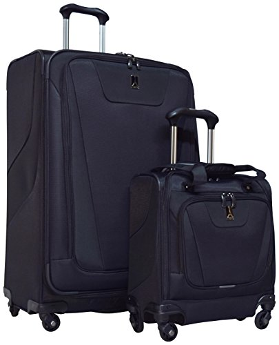 Travelpro Maxlite 4 2-Piece Luggage Set: 29'' Expandable Spinner & Easy Carry On Under Seat Bag (Black) by Travelpro