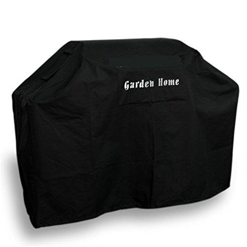"Garden Home Heavy Duty 70"" Grill Cover (All Black, 70″)"