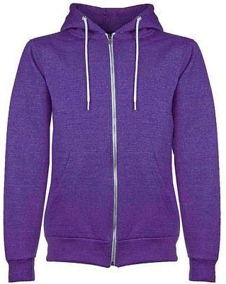 Fashion Star Mens Boys Plain Hoodies American Zip Fleece Hoody Jacket Hooded Top Sweat Shirt S-5XL