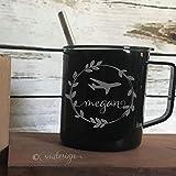 Personalized Name Pilot Coffee Mug Pilot Gift Idea Spouse Gift Airplane Coffee Cup Double Insulation Plane Coffee Mug