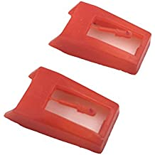 banpa Phonograph Record Player Stylus Needle for Crosley NP1 and NP6 - Pack of 2
