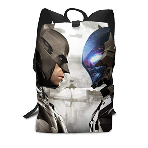 Outdoor Leisure Sports School Travel Backpack Casual Daypack-Batman-Arkham