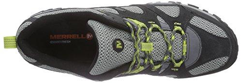 Merrell Rockbit Gtx - Zapatos de Low Rise Senderismo Hombre Multicolor - Mehrfarbig (CASTLE ROCK/GREEN OASIS)